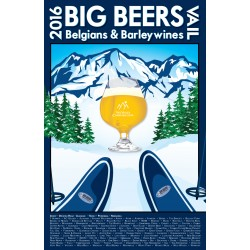 2016 Big Beers Festival Poster (WITH Breweries)