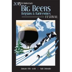 2015 Big Beers Festival Poster (wihout Breweries)