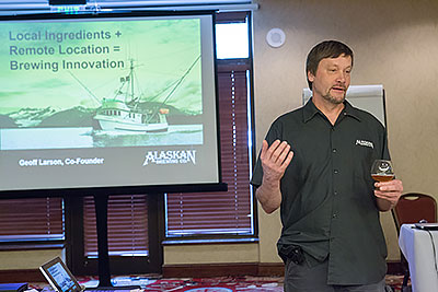 Geoff Larson with Alaskan Brewing