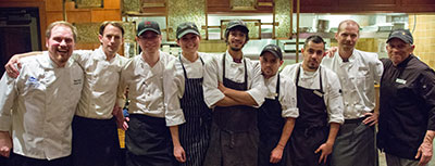 Brewmasters Dinners Kitchen Staff