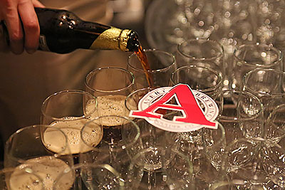 Avery Brewing beer tasters