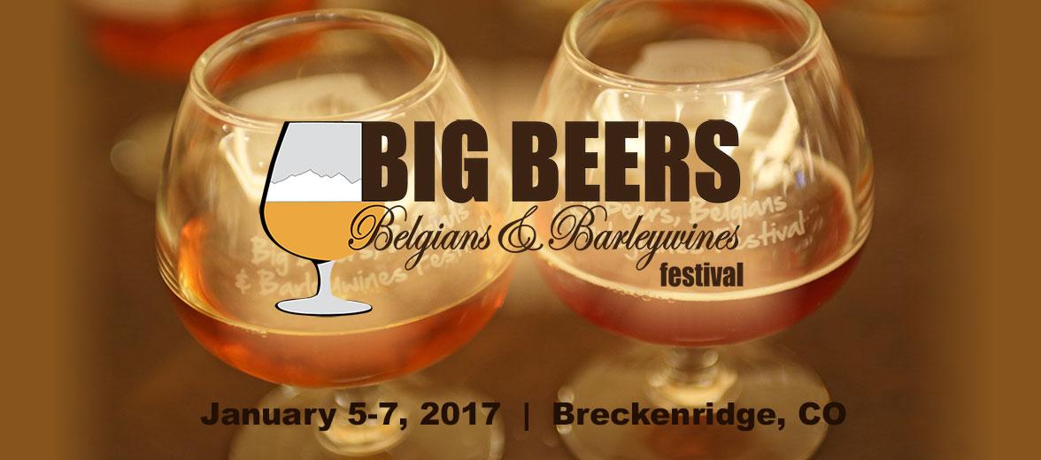 Big Beers, Belgians & Barleywines Beer Festival Breckenridge CO