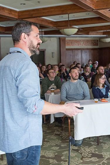 Steven Pauwels discovering fruit seminar