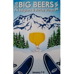 2016 Big Beers Festival Poster (without Breweries)