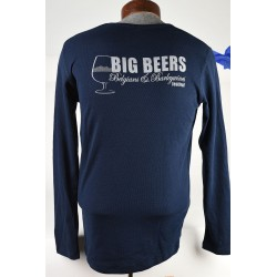 Long Sleeve Big Beers Festival Waffle Shirt