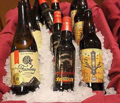 Fanboy Beer Bottles