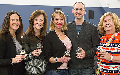 Happy Group at the Commercial Tasting