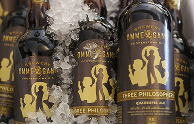 Ommegang Beer Bottles