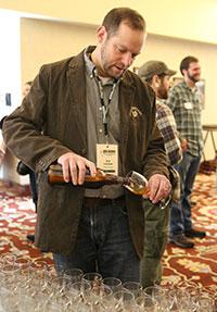 Phil Leinhart Tasting Beer