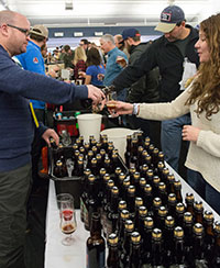 Pouring Beer from Bottles