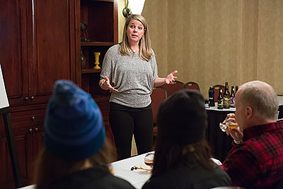 teaching beer and brewing