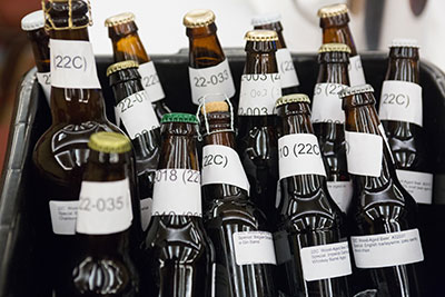Anonymous Homebrew Competition Bottles
