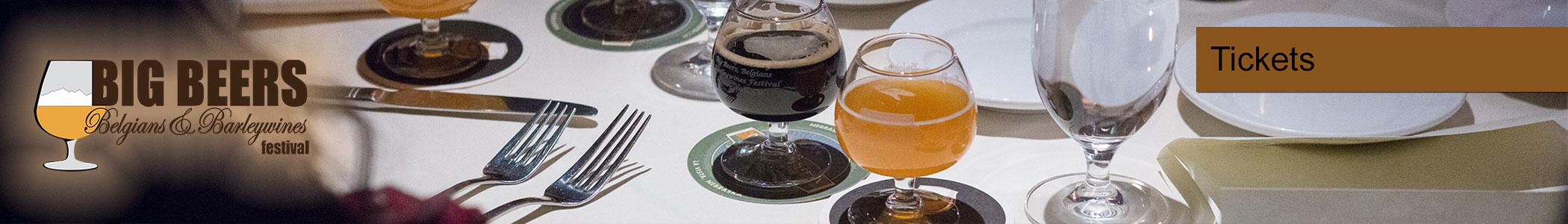 Big Beers, Belgians & Barleywines Beer Festival Tickets