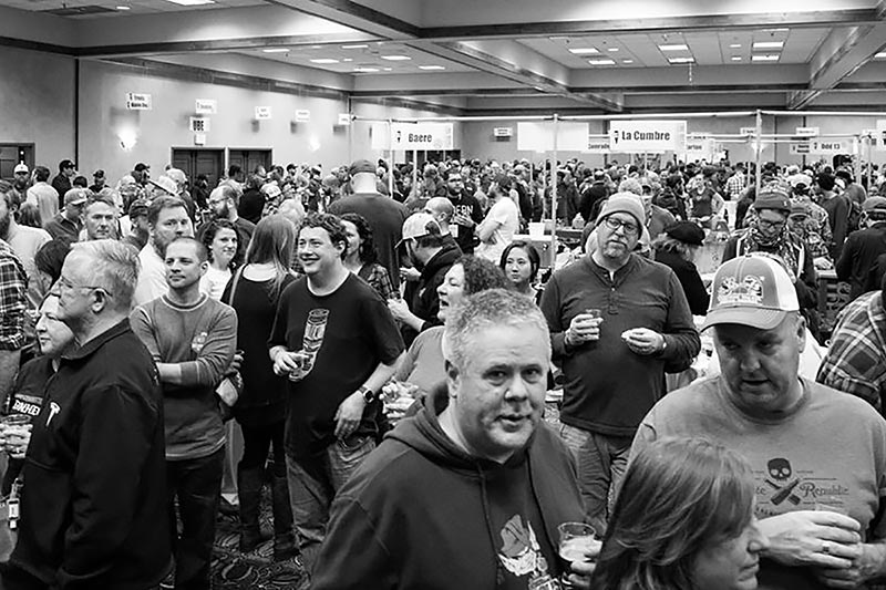 2018 Commercial Tasting crowd