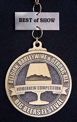 2018 Homebrew Best of Show medal