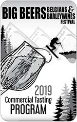 2019 Big Beers Commercial Tasting Program