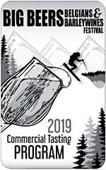2019 Big Beers Commercial Tasting Program