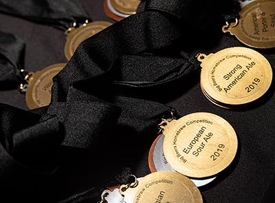 Homebrew Competition medals
