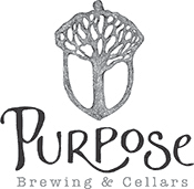 Purpose Brewing and Cellars logo
