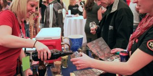 Sample Beer Pouring